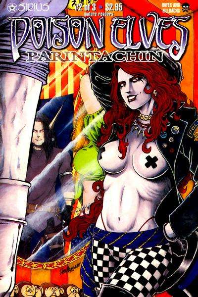 Poison Elves: Parintachin #2 Comic Books - Covers, Scans, Photos  in Poison Elves: Parintachin Comic Books - Covers, Scans, Gallery