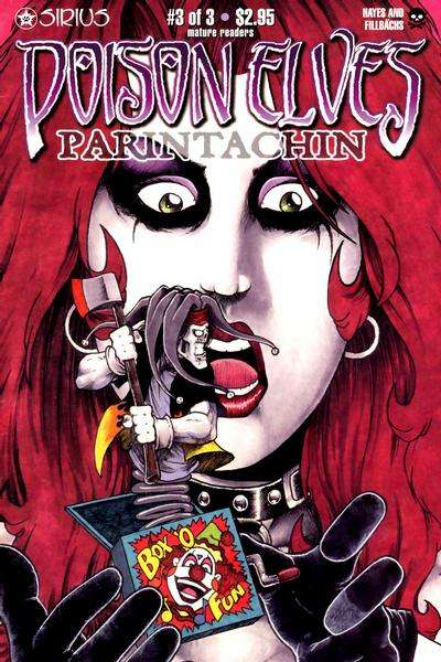Poison Elves: Parintachin #3 comic books for sale