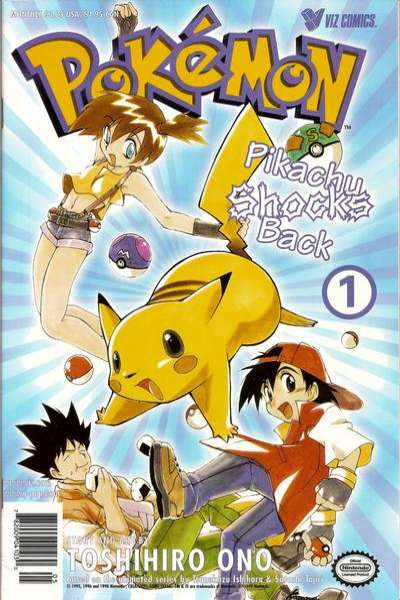 Pokemon: Part 2: Pikachu Shocks Back #1 Comic Books - Covers, Scans, Photos  in Pokemon: Part 2: Pikachu Shocks Back Comic Books - Covers, Scans, Gallery