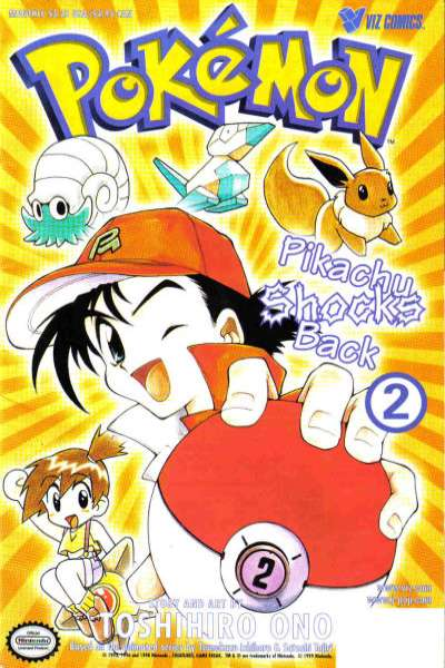 Pokemon: Part 2: Pikachu Shocks Back #2 Comic Books - Covers, Scans, Photos  in Pokemon: Part 2: Pikachu Shocks Back Comic Books - Covers, Scans, Gallery