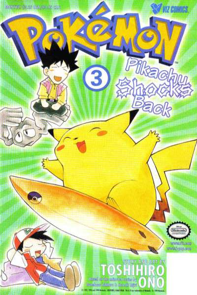 Pokemon: Part 2: Pikachu Shocks Back #3 comic books - cover scans photos Pokemon: Part 2: Pikachu Shocks Back #3 comic books - covers, picture gallery