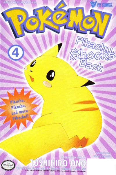 Pokemon: Part 2: Pikachu Shocks Back #4 Comic Books - Covers, Scans, Photos  in Pokemon: Part 2: Pikachu Shocks Back Comic Books - Covers, Scans, Gallery