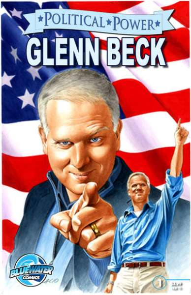 Political Power: Glenn Beck #1 comic books - cover scans photos Political Power: Glenn Beck #1 comic books - covers, picture gallery