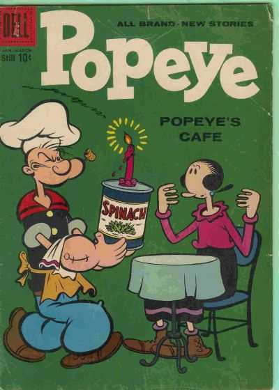 Popeye #47 Comic Books - Covers, Scans, Photos  in Popeye Comic Books - Covers, Scans, Gallery
