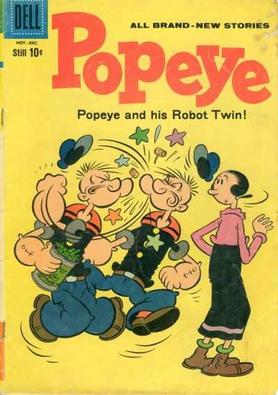 Popeye #56 Comic Books - Covers, Scans, Photos  in Popeye Comic Books - Covers, Scans, Gallery