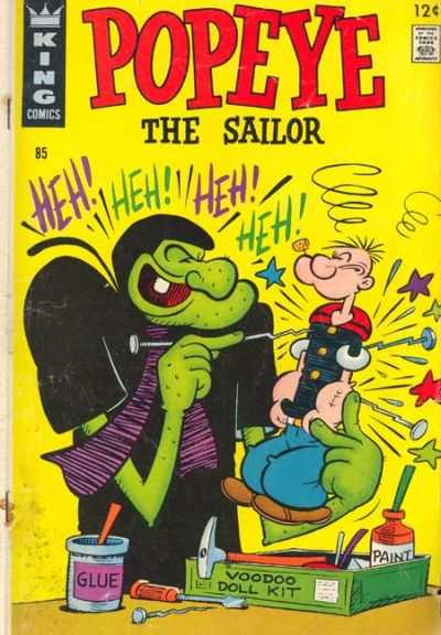 Popeye #85 Comic Books - Covers, Scans, Photos  in Popeye Comic Books - Covers, Scans, Gallery