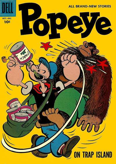 Popeye #42 Comic Books - Covers, Scans, Photos  in Popeye Comic Books - Covers, Scans, Gallery