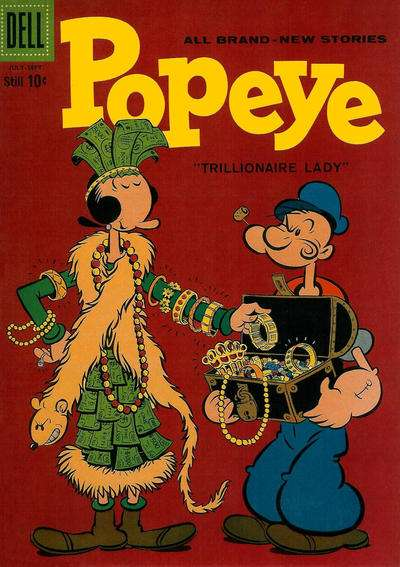 Popeye #49 comic books for sale