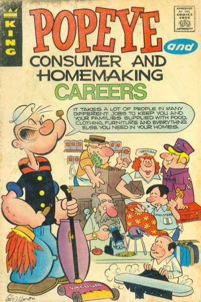 Popeye #6 comic books for sale
