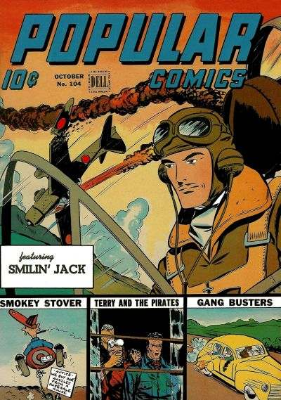 Popular Comics #104 Comic Books - Covers, Scans, Photos  in Popular Comics Comic Books - Covers, Scans, Gallery