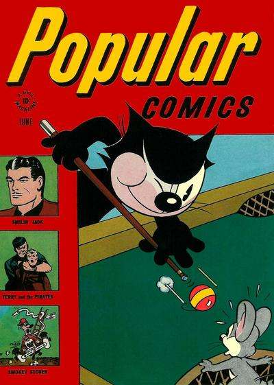 Popular Comics #124 Comic Books - Covers, Scans, Photos  in Popular Comics Comic Books - Covers, Scans, Gallery