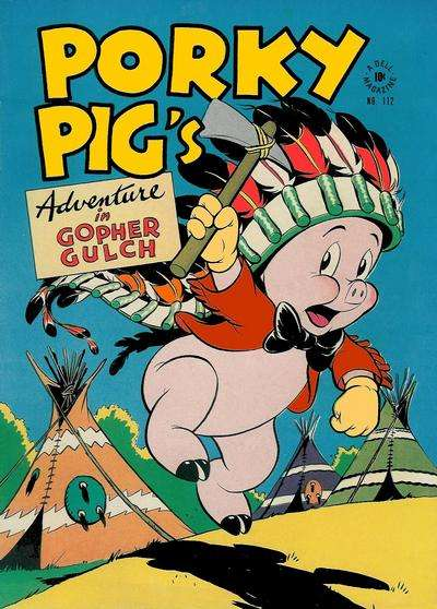 Porky Pig #4 comic books - cover scans photos Porky Pig #4 comic books - covers, picture gallery