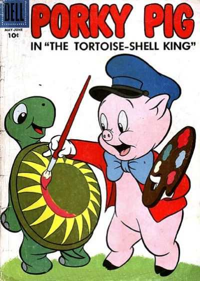 Porky Pig #52 comic books - cover scans photos Porky Pig #52 comic books - covers, picture gallery