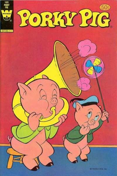 Porky Pig #103 comic books - cover scans photos Porky Pig #103 comic books - covers, picture gallery