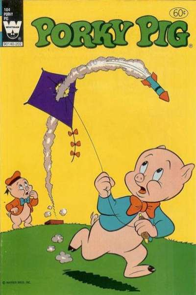 Porky Pig #104 comic books - cover scans photos Porky Pig #104 comic books - covers, picture gallery