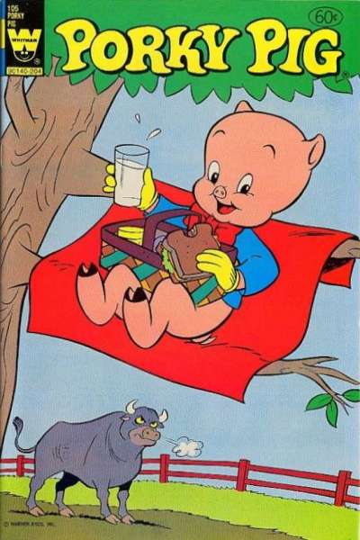 Porky Pig #105 Comic Books - Covers, Scans, Photos  in Porky Pig Comic Books - Covers, Scans, Gallery