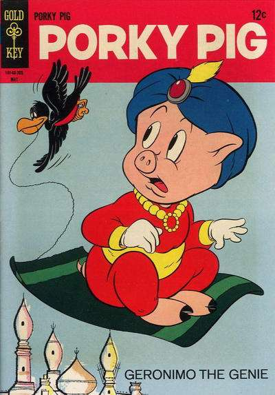 Porky Pig #12 comic books - cover scans photos Porky Pig #12 comic books - covers, picture gallery