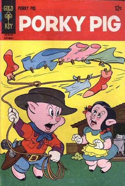 Porky Pig #14 Comic Books - Covers, Scans, Photos  in Porky Pig Comic Books - Covers, Scans, Gallery