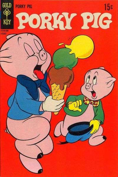 Porky Pig #19 comic books - cover scans photos Porky Pig #19 comic books - covers, picture gallery