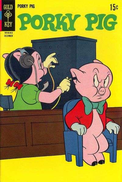 Porky Pig #21 comic books - cover scans photos Porky Pig #21 comic books - covers, picture gallery