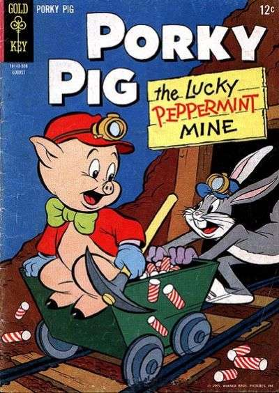 Porky Pig #3 Comic Books - Covers, Scans, Photos  in Porky Pig Comic Books - Covers, Scans, Gallery