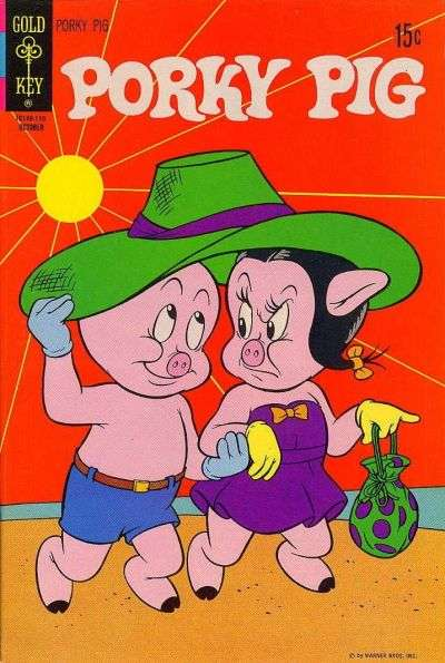 Porky Pig #38 comic books - cover scans photos Porky Pig #38 comic books - covers, picture gallery