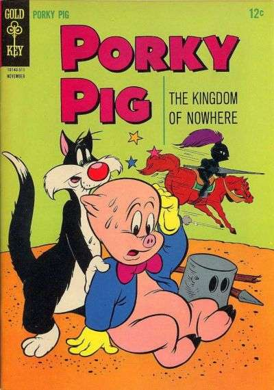 Porky Pig #4 Comic Books - Covers, Scans, Photos  in Porky Pig Comic Books - Covers, Scans, Gallery