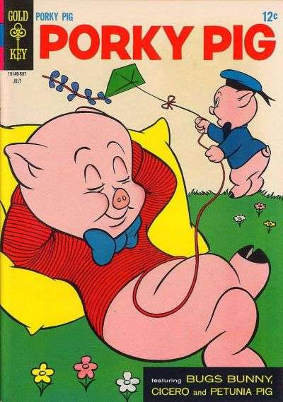 Porky Pig #7 comic books - cover scans photos Porky Pig #7 comic books - covers, picture gallery