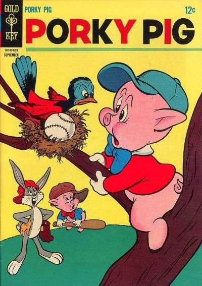 Porky Pig #8 comic books - cover scans photos Porky Pig #8 comic books - covers, picture gallery