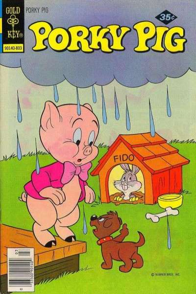 Porky Pig #80 comic books - cover scans photos Porky Pig #80 comic books - covers, picture gallery