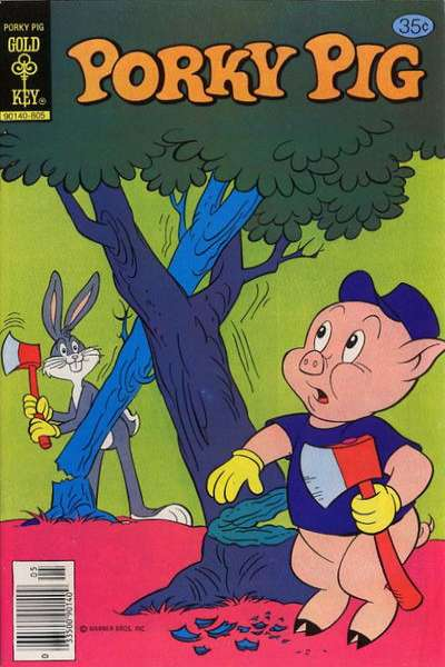 Porky Pig #81 comic books - cover scans photos Porky Pig #81 comic books - covers, picture gallery