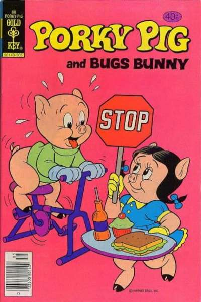 Porky Pig #88 comic books - cover scans photos Porky Pig #88 comic books - covers, picture gallery