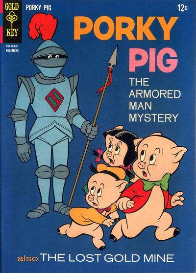 Porky Pig #9 comic books - cover scans photos Porky Pig #9 comic books - covers, picture gallery