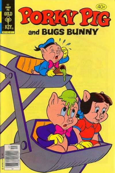 Porky Pig #92 comic books - cover scans photos Porky Pig #92 comic books - covers, picture gallery