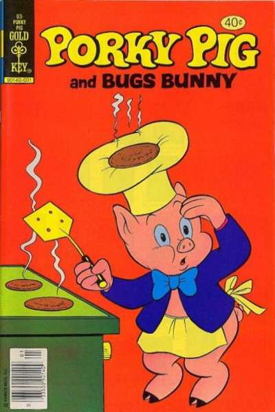 Porky Pig #93 comic books - cover scans photos Porky Pig #93 comic books - covers, picture gallery
