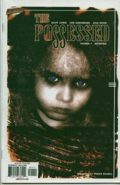 Possessed #1 comic books - cover scans photos Possessed #1 comic books - covers, picture gallery
