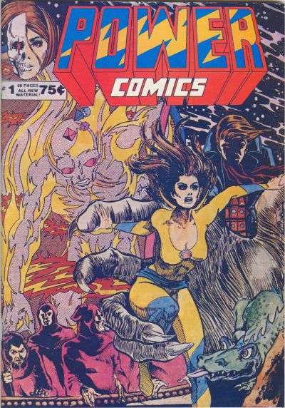Power Comics comic books