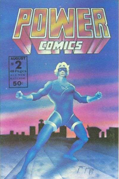 Power Comics #2 comic books - cover scans photos Power Comics #2 comic books - covers, picture gallery