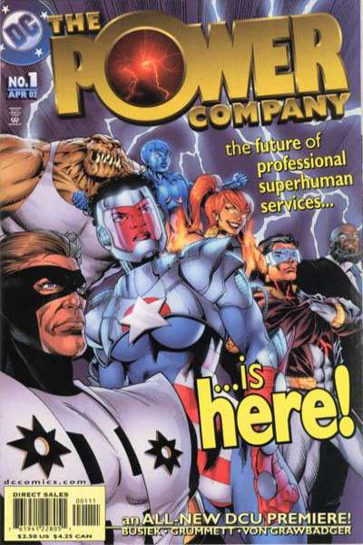 Power Company Comic Books. Power Company Comics.