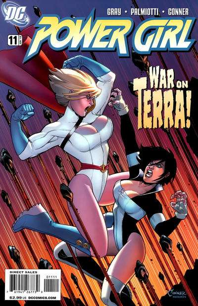 Power Girl #11 comic books for sale