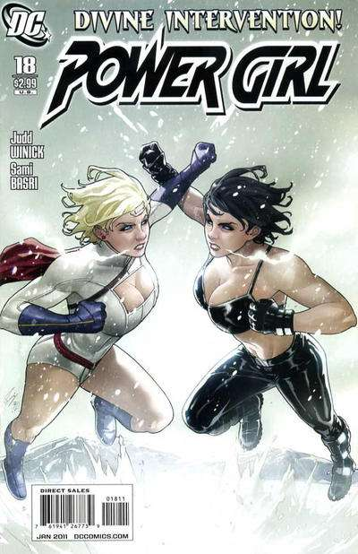Power Girl #18 Comic Books - Covers, Scans, Photos  in Power Girl Comic Books - Covers, Scans, Gallery