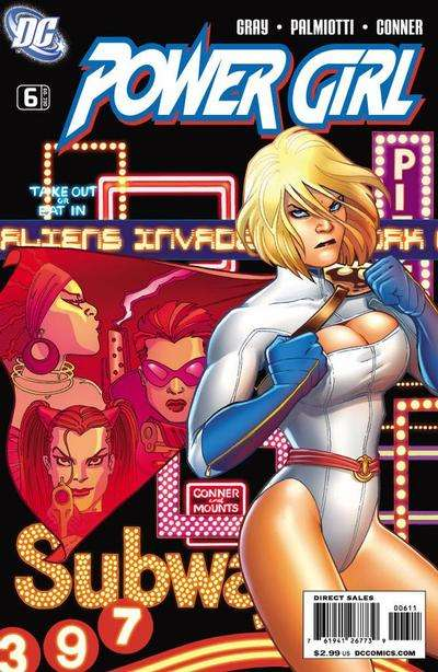 Power Girl #6 comic books for sale
