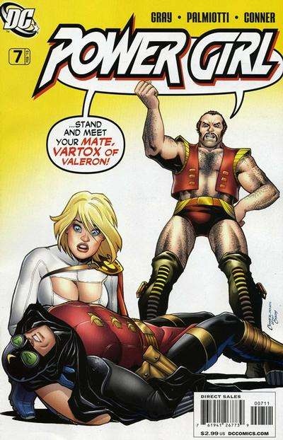 Power Girl #7 comic books for sale