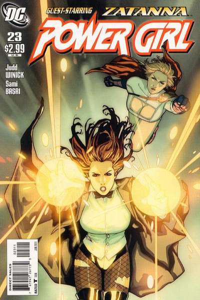 Power Girl #23 Comic Books - Covers, Scans, Photos  in Power Girl Comic Books - Covers, Scans, Gallery