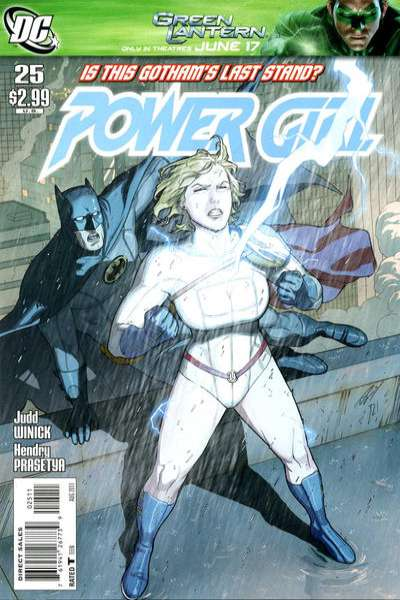 Power Girl #25 comic books for sale