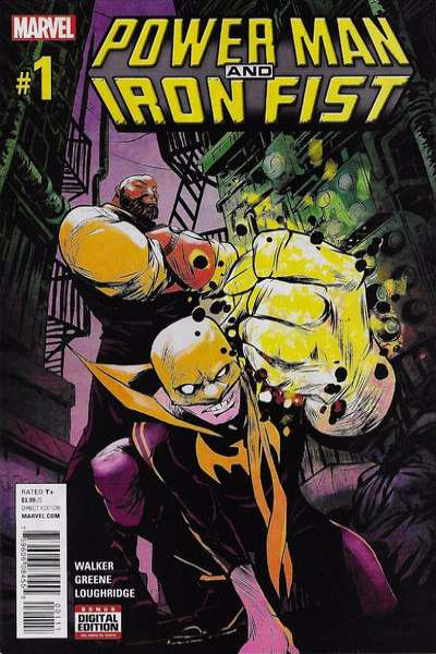 Power Man and Iron Fist Comic Books. Power Man and Iron Fist Comics.