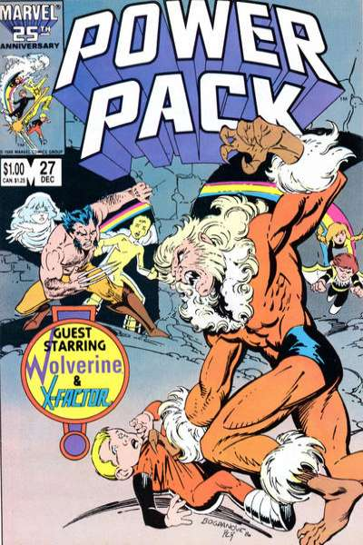 Power Pack #27 Comic Books - Covers, Scans, Photos  in Power Pack Comic Books - Covers, Scans, Gallery