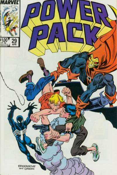 Power Pack #29 Comic Books - Covers, Scans, Photos  in Power Pack Comic Books - Covers, Scans, Gallery