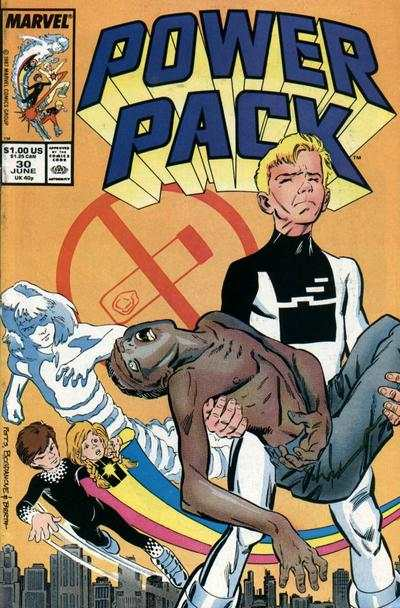Power Pack #30 comic books - cover scans photos Power Pack #30 comic books - covers, picture gallery