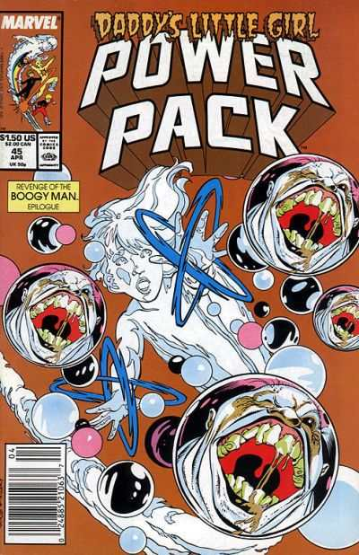 Power Pack #45 comic books - cover scans photos Power Pack #45 comic books - covers, picture gallery